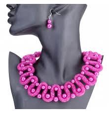 Womens Fashion Statement Gift Set Pink Green Yellow White