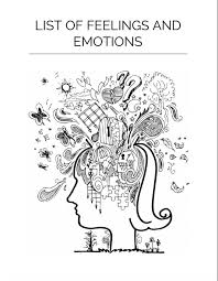 List Of Emotions And Feelings Feelings Chart Free To Download