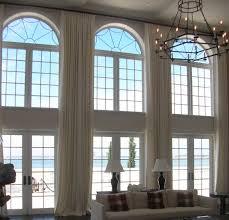 Extra Long Curtains Panels for High Windows/ Loft DraperyTreatment/Choice  of Linen Fabric -