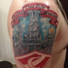 татуировки спартак москва для настоящего фаната