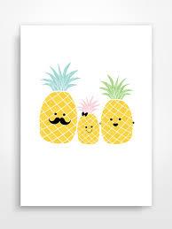 cute pineapple drawing. pineapple family - so cute! cute drawing