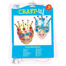 Card Masks To Decorate Strong Card Crown Mask for Children to Design and Decorate for 46