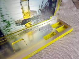 Acrylic Perfume Display Stand Merchandising Acrylic Perfume Display Stand Countertop For 83
