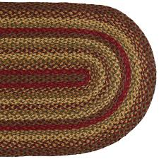 home interior selected braided rug 4 5 wool round country braid house from braided rug