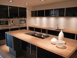 modern kitchen countertops home designs cabinets and ideas wood pictures from kitchens grey backsplash inexpensive