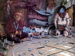 the sacred art of navajo sandpainting