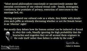 Robert Heinlein Quotes Inspiration Robert Heinlein On Cultural Sexual Code By Rationalhub On DeviantArt