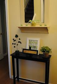 Furniture: Simple Narrow Entryway Table With Shoe Stand For Living  For Skinny  Entryway Table