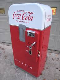 Retro Soda Vending Machine Cool Coke Machine Restoration CocaCola Machine Restoration Vintage