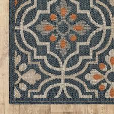 5 ft indoor outdoor area rug 820578
