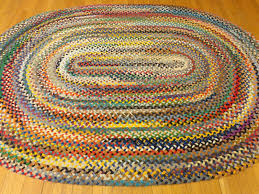 inspiration about 5 10 x 8 3 braided rug rug country rug vintage regarding