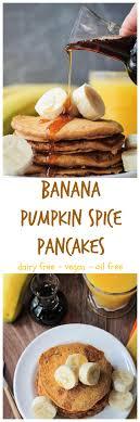 pumpkin e pancakes w banana veggie inspired