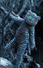 the front of the costume tim burton s cheshire cat costume