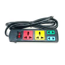 Ổ cắm điện LiOA đa năng 4 ổ 2DN2S, dây dài 3m GNG