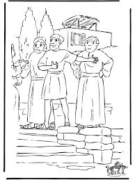 Paulus Spreekt Bijbel Kleurplaten Nieuwe Testament