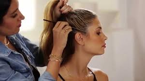 Jennifer Lopez New Hair Style jennifer lopezs sleek top knot hair tutorial instyle youtube 4098 by stevesalt.us