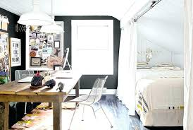 studio living furniture. Furniture Apartemen Studio Apt A Curtain Is One Of Many Ways To Section Off . Living D