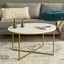 Modern <b>Round Coffee</b> Accent <b>Table</b> Living Room: Amazon.ca ...