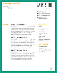 Gallery Of 2016 Eye Catching Resume Templates Free Resume Templates