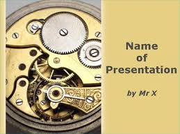 Clock Powerpoint Templates