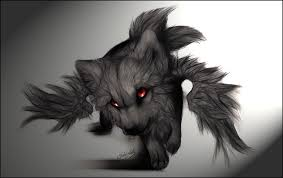 red and black wolf with wings. Fine Black The Wings Of Black Chaos By WhiteSpiritWolf  Intended Red And Wolf With G