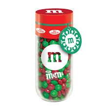 m m s milk chocolate holiday gift jar