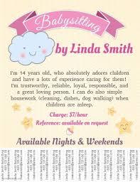 Babysitting Flyer Template Babysitting Flyer Template Free New 17 Babysitting Flyer