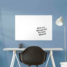 dry erase medium white board removable wall decal wall decal