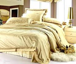 white and gold bed sets duvet covers medallion damask scroll king cover super size