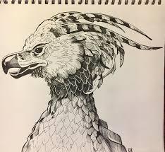 Phoenix My Girlfriend Pen On Drawing Paper 2016 Art