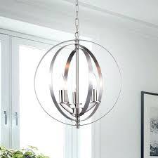 globe light chandelier chrome 3 light chandelier globe silver next globe 5 light chandelier