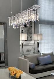 crystal linear chandelier linear crystal chandelier lighting