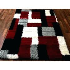 modern black and white area rugs area rugs black red area rugs contemporary black modern blocks