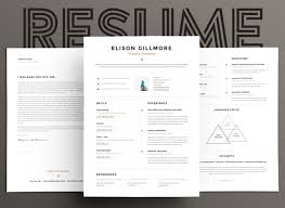 Modern Typographic Resume Set The 17 Best Resume Templates For Every Type Of Professional