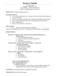 Student Job Resume Pelosleclaire Com
