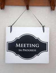 Quiet Please Meeting In Progress Sign Office Door Sign Meeting In Progress Sign Open Sign 2 Sided Sign