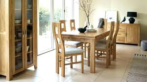 oak dining room table and 6 chairs used