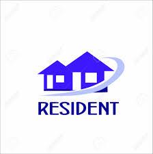 Vector Creative Illustration Resident Building Logos Home Logo