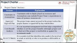 Six Sigma Raci Chart 4 Interesting Elements Of The Six Sigma Project Charter Document