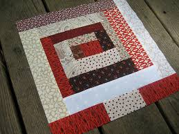 Log Cabin Quilt Pattern 12 Inch Block Stunning Instructions For Log Cabin Quilt Block Cafca Info For