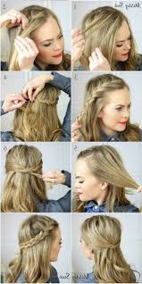 Medium Hairstyle Cute Easy Hairstyles For Medium Hair Cute Easy