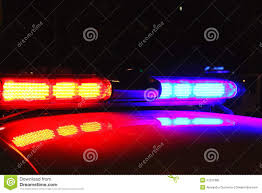 Download Police Lights Police Lights By Night Stock Photo Image Of Lighting 37231982