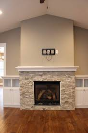 built in shelving around a fireplace doesn t have to be bersome these