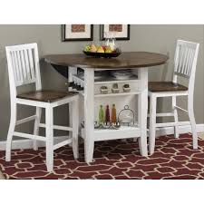 Counter Height Bistro Table Set Counter Height Round Pub Table Set Braden Birch 48 Round Counter