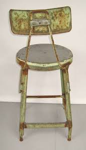 industrial age furniture. Industrial Machine Age Shop Stools, Out Of The Famous Schrade Knife Factory NY Furniture T