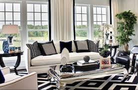 Deco Salon Moderne Noir Et Blanc Mambobccom