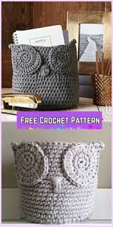 Free Crochet Basket Patterns Impressive Chunky Crocheted Basket By Elizabeth Pardue Free Crochet Pattern