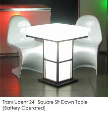 Image Transparent Town Country Event Rentals Translucent Sit Down Table Town Country Event Rentals
