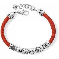 glastonbury leather bracelet alternate view 3