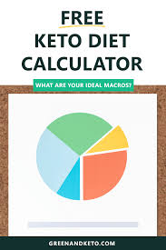 Keto Chart For Beginners Free Keto Macros Calculator Green And Keto